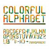 Colorful alphabet (10eps)