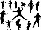 Jumping Silhouette 12.eps
