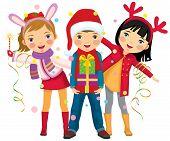 Children's Christmas party a surprise
