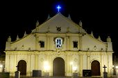 stock photo of luzon  - Vigan Cathedral (also known as St. Paul Metropolitan Cathedral) is an earthquake Baroque-styled church built in 1574 commissioned by Spaniard Juan de Salcedo located in the Ilocos region. Philippines ** Note: Soft Focus at 100%, best at smaller sizes - JPG