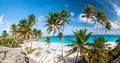Bottom Bay is one of the most beautiful beaches on the Caribbean island of Barbados. It is a tropica