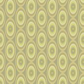 Abstract Khaki Pattern From Ovals