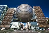 NAGOYA, JAPAN - JANUARY 29, 2013: The Nagoya City Science Museum. The planetarium is among the large