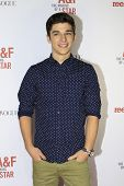 LOS ANGELES - FEB 22:  Sean O'Donnell at the Abercrombie & Fitch 'The Making of a Star' Spring Campa