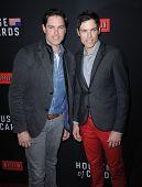 LOS ANGELES - FEB 13:  Evan Lowenstein & Jaron Lowenstein the