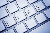 Word Life On Computer Keyboard