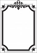 Scroll Border Frame
