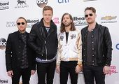 LAS VEGAS - MAY 18:  Imagine Dragons arrives to the Billboard Music Awards 2014  on May 18, 2014 in