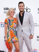 LAS VEGAS - MAY 18:  Luke Bryan & Caroline Boyer arrives to the Billboard Music Awards 2014  on May
