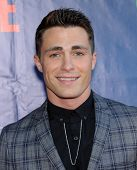 LOS ANGELES - JUL 17:  Colton Haynes arrives to the CBS-CW-Showtime Summer TCA Press Tour 2014  on July7, 2014 in West Hollywood, CA.