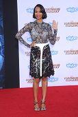 LOS ANGELES - JUL 21:  Zoe Saldana arrives to the