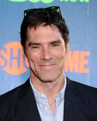 LOS ANGELES - JUL 17:  Thomas Gibson arrives to the CBS-CW-Showtime Summer TCA Press Tour 2014  on July7, 2014 in West Hollywood, CA.