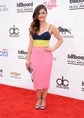 LAS VEGAS - MAY 18:  Lucy Hale arrives to the Billboard Music Awards 2014  on May 18, 2014 in Las Ve