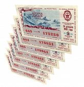 Old Soviet Lottery Tickets, Risk Concept