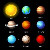 planets icons