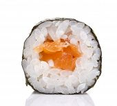 Sushi Maki Isolated On White Background