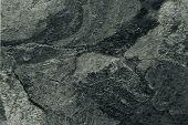 Closeup of grey slate floor