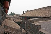 Roofs Of Pingyao Ancient Town