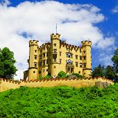 castles of Bavaria - Hohenschwangau, Germany