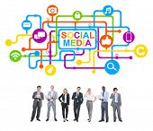 Business People and Social Media Concepts