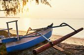Fishing boats in Bali
