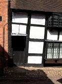 Tudor doorway