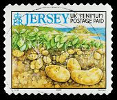 Jersey Channel Islands Postage Stamp