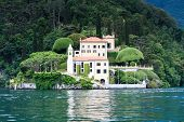 Villa Del Balbianello At Lake Como