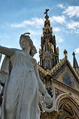 image of kensington  - The Albert Memorial in Kensington Gardens - JPG
