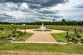 The Privy Garden at Hampton Court Palace near London, UK