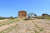 ancient valley of temples in Agrigento