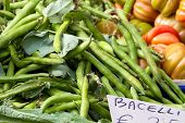 Broad Beans For Sale At Market