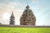 Kizhi. Ancient Church Of Transfiguration