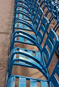 Chairs On Promenade Des Anglais