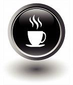 Black coffee icon