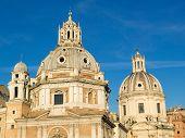 Twin Churches, Rome, Italy