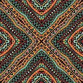 Bright Tribal Seamless Ornament