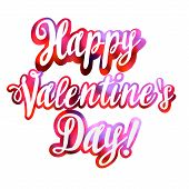 Valentines Day Vintage Bokeh Lettering Background