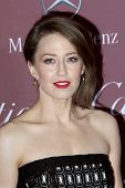 PALM SPRINGS, CA - JAN 3: Carrie Coon arrives at the 2015 Palm Springs International Film Festival Awards Gala at the Palm Springs Convention Center on January 3, 2015 in Palm Springs, CA.