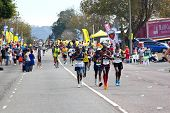 Spectators Cheering Participants Competing In 2014 Comrades Marathon