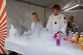 The Flying Culinary Circus at marathon , Oslo, Norway