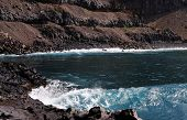 Waves Against Shore