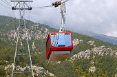 The Gondola Lift To The Top Of The Mountains