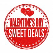 Valentines Day Sweet Deals Stamp