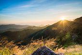 The Sun On The Mountain