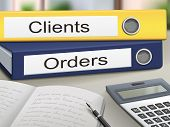 Clients And Orders Binders