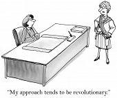 Woman Executive - Revolutionary