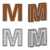 picture of letter m  - Letter M  - JPG
