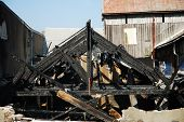 Burned Factory Frame