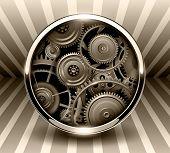 foto of machinery  - Background 3d - JPG